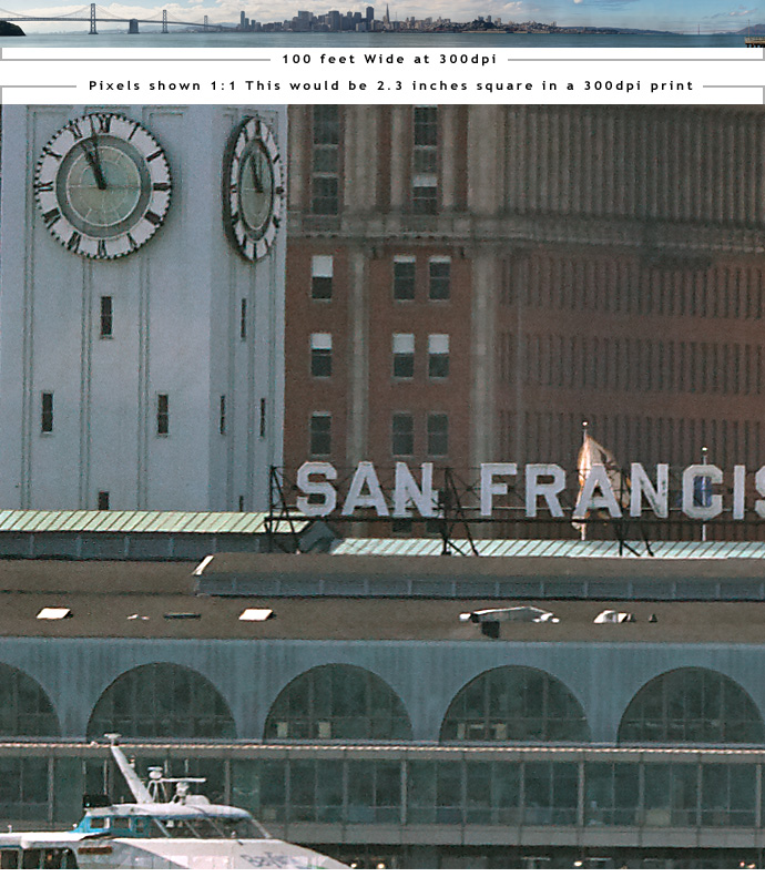 Gigapixel photo of SF