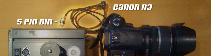 Pano Machine Trigger Cable